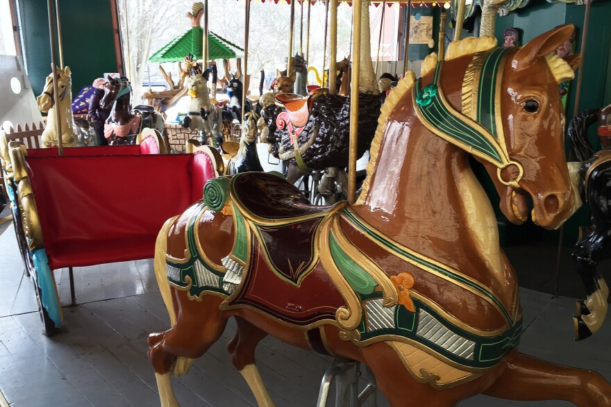 Controversy has erupted in Carmel, Ind., as the city council is expected to consider $76 million in new bonds to pay for various projects, including one for a new luxury hotel, a couple new roundabouts and, this antique carousel.