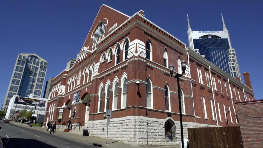 The Ryman Auditorium in downtown Nashville has been open since 1892.