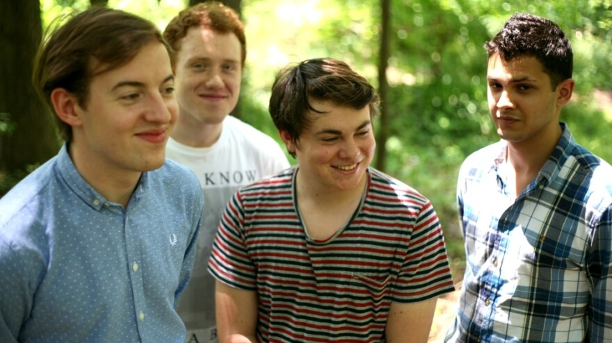 Led by vocalist Jack Steadman (far left), Bombay Bicycle Club has just released <em>A Different Kind of Fix</em>, its third album in as many years.