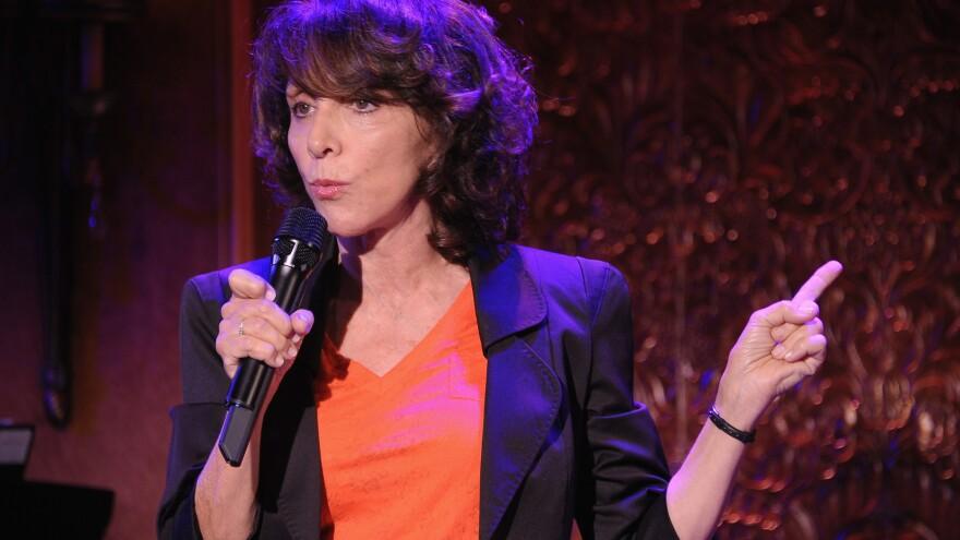 Comedian Andrea Martin performs at New York's 54 Below in 2012. She published her memoir <em>Lady Parts</em> in September.
