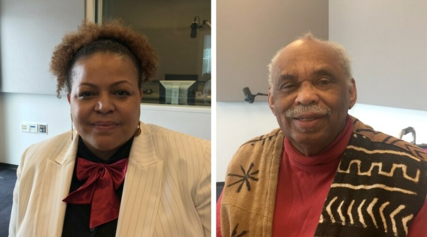 """Tiffany Lee and Reginald Petty recently published """"Legendary East St. Louisans."""""""