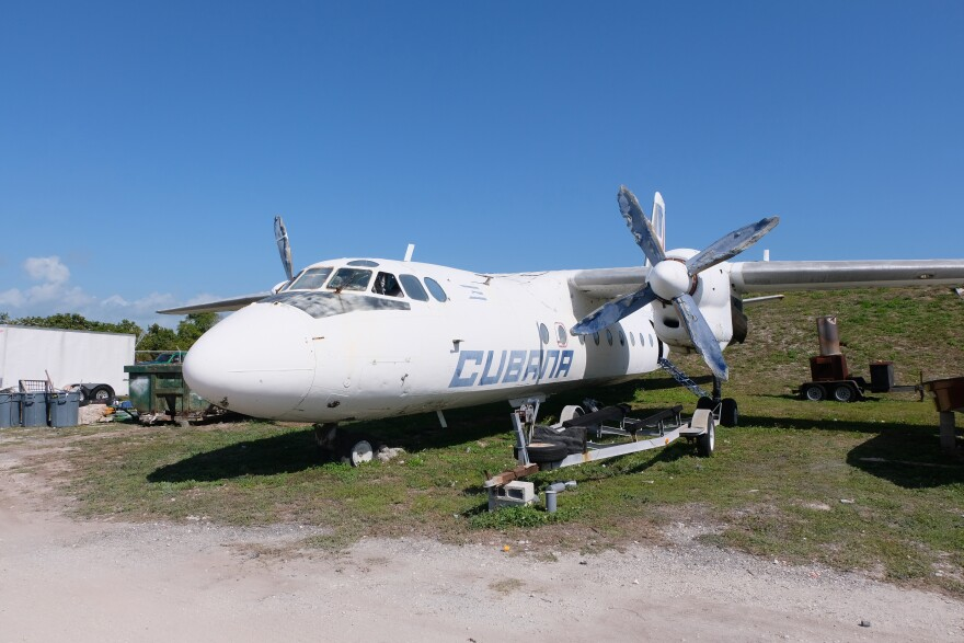 The Cubana de Avación plane was hijacked from Cuba in 2003 — and has been at the Key West Airport ever since.