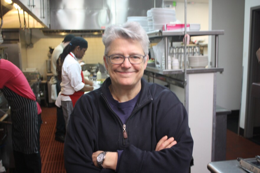 Chef Elizabeth Wiley is the owner of Meadowlark Restaurant and Wheat Penny Oven and Bar.