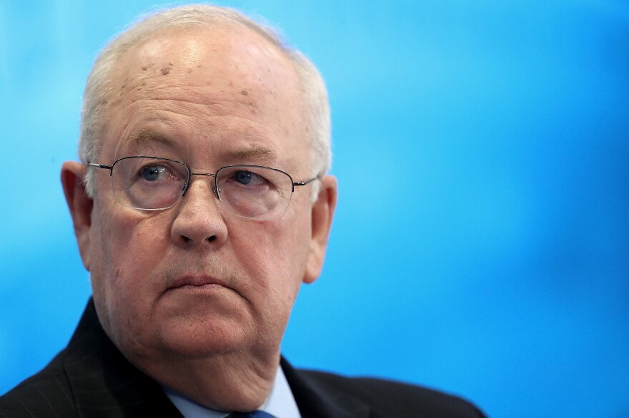 Former independent counsel Ken Starr, pictured in September 2018, is part of President Trump's defense team during his impeachment trial.