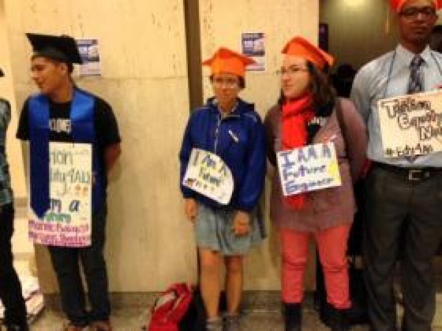 Undocumented students blanketed the halls of the Capitol last spring pushing a law that grants them in-state tuition.