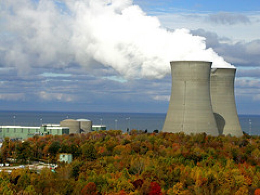 Perry Nuclear Power Plant Near Cleveland, The Plant Recieved A Bailout As A Part of HB6