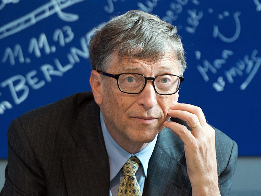 Bill Gates at an event held by his foundation in Berlin last November.
