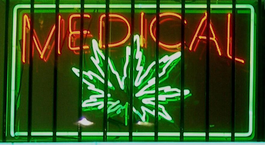 sign for medical marijuana