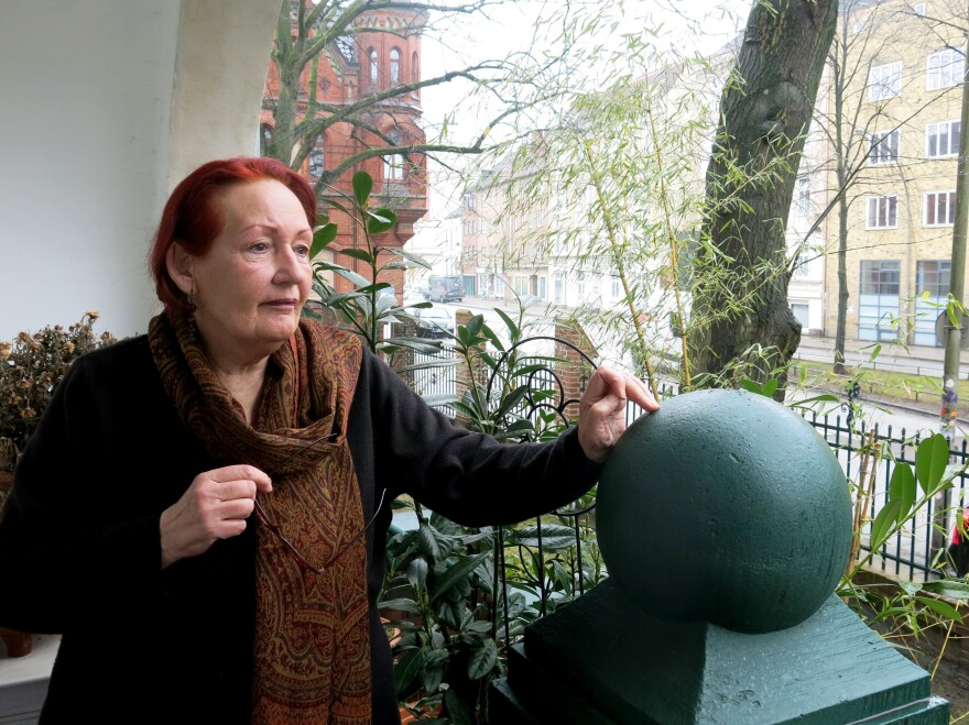 Charlotte Lill, 71, lives in a high-end retiree complex off Max-Brauer-Allee, one of the Hamburg streets affected by the partial diesel ban. She says as lucky as she was to be assigned an apartment with a balcony, she barely uses it because the fumes from the road have made her feel sick.