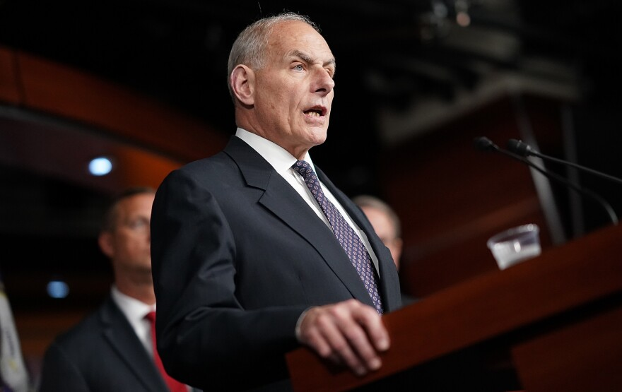 John Kelly, formerly President Trump's secretary of Homeland Security, is now his chief of staff. The retired general personifies The Pivot long sought by establishmentarians.