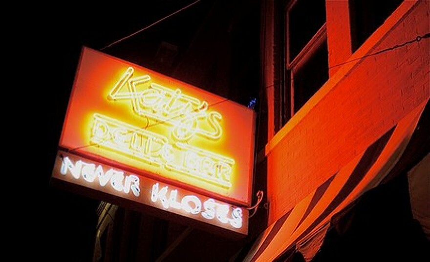 Katz's Sign at Night