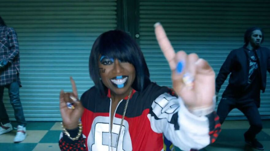 "Missy Elliott surprised the music world this week with the new song and video ""WTF (Where They From)."""
