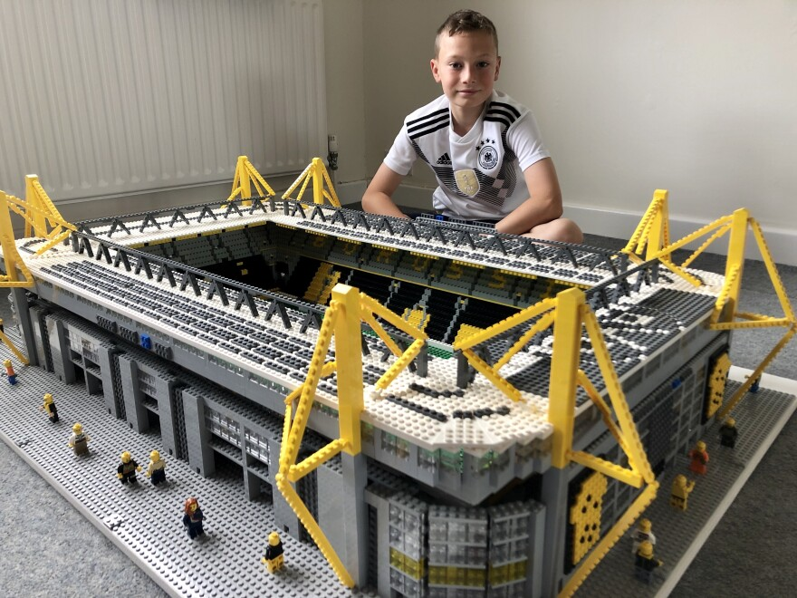 Borussia Dortmund plays at the real-life Signal Iduna Park, better known as Westfalenstadion, which boasts a monstrous capacity of over 80,000.