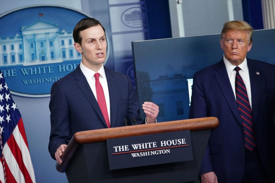 """This week, The New York Times reported that although the president's son-in-law and senior advisor Jared Kushner is """"a real estate developer with none of the medical expertise of a public health official nor the mobilization experience of a general, [he] has nonetheless become a key player in the response to the pandemic"""""""