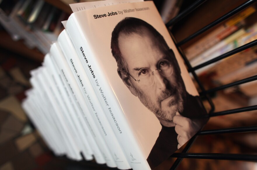 Walter Isaacson's biography of Apple co-founder Steve Jobs was published in late October.