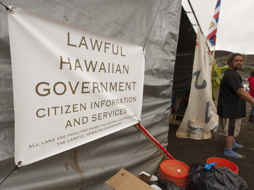 In August, protesters blocked the construction of the Thirty Meter Telescope on Mauna Kea, Hawaii's biggest mountain.