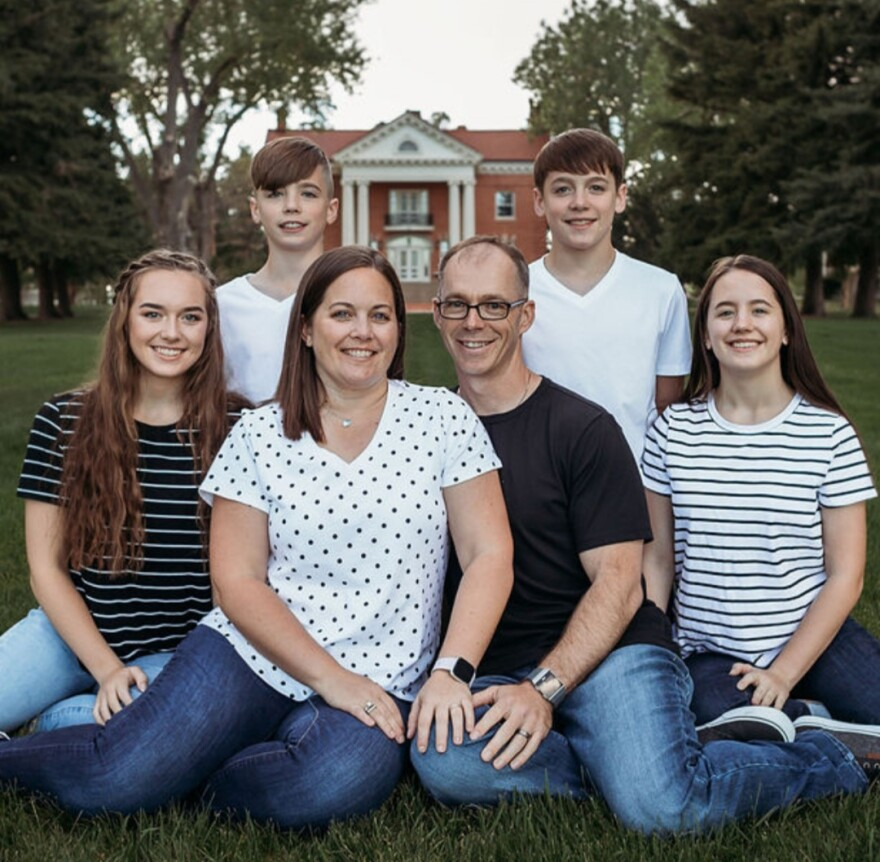 The Bayes family moved in the midst of the coronavirus pandemic, from Cheyenne, Wyoming to Tampa, just as cases were reaching a summer peak in Florida