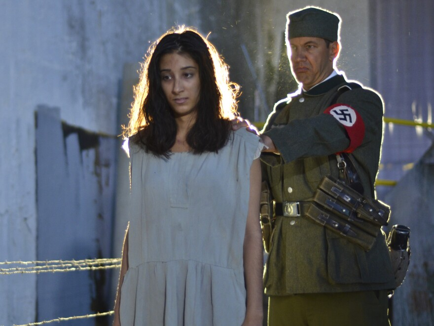 Noor Inayat Khan (Grace Srinivasan) was ultimately betrayed by French collaborators and executed by the Nazis.
