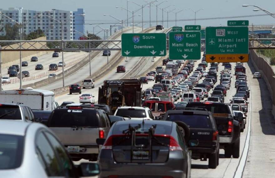 Commuters in Miami-Dade, Broward and Palm Beach Counties have 90 minutes or longer supercommutes, according to one 2018 study. Other reports consistently rank South Florida Traffic as the worst or some of the worst in the nation.