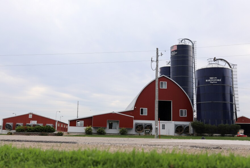 Vision Aire Farms has about 150 milking cows.