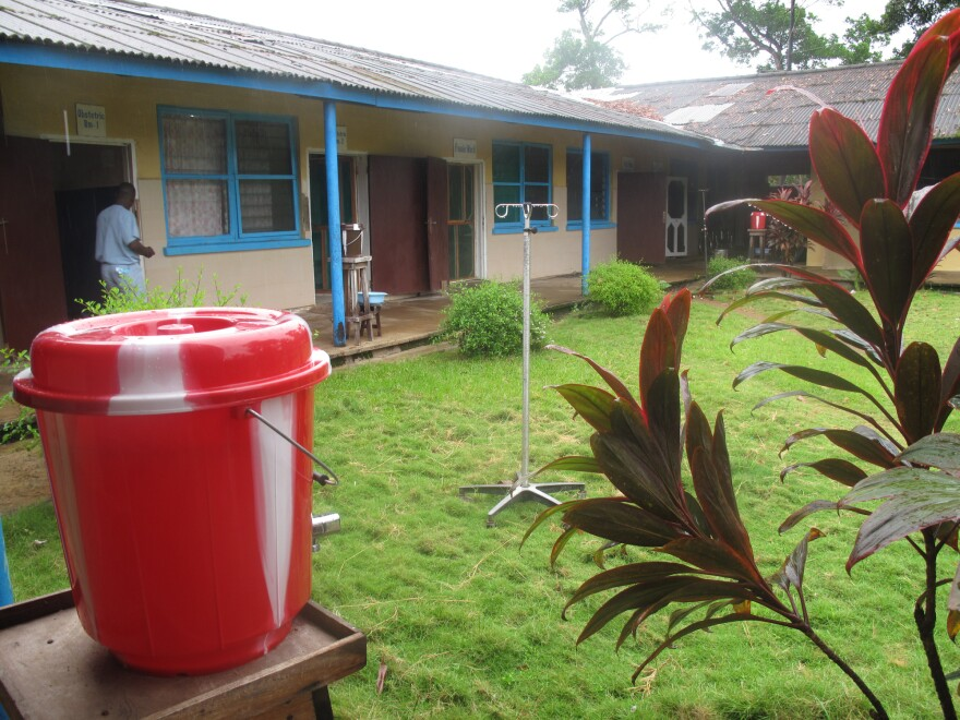 The maternity ward at the Eternal Love Winning Africa, or ELWA, hospital is nestled in a tropical forest a few hundred yards from the Atlantic Ocean.