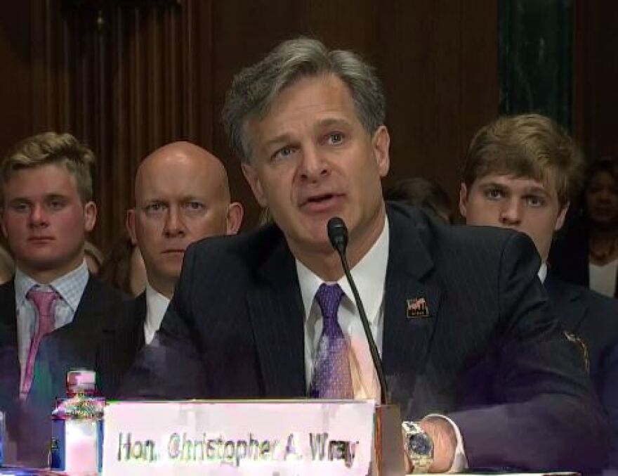 Christopher Wray Senate Confirmation hearing, July 12, 2017
