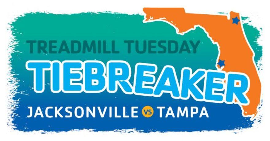 YMCA's Treadmill Tuesday pits Tampa vs. Jacksonville