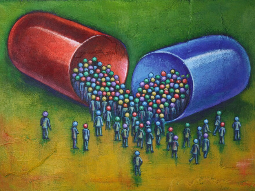 Psychiatry's shift toward seeing mental health problems as an illness to be treated with a pill hasn't always served patients well, says Harvard historian and author Anne Harrington.
