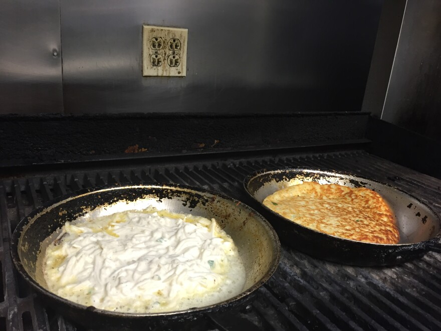 boxty in skillet