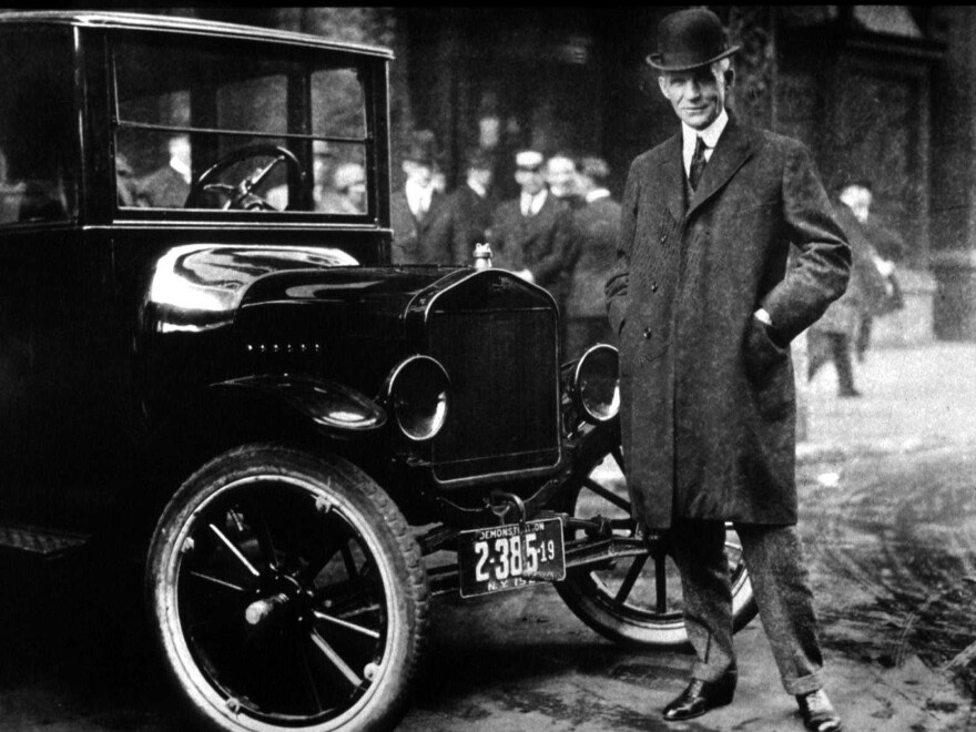 Henry Ford may have paid his workers a good wage, but it wasn't out of charity — it was a good business decision that some say helped the middle class take off.