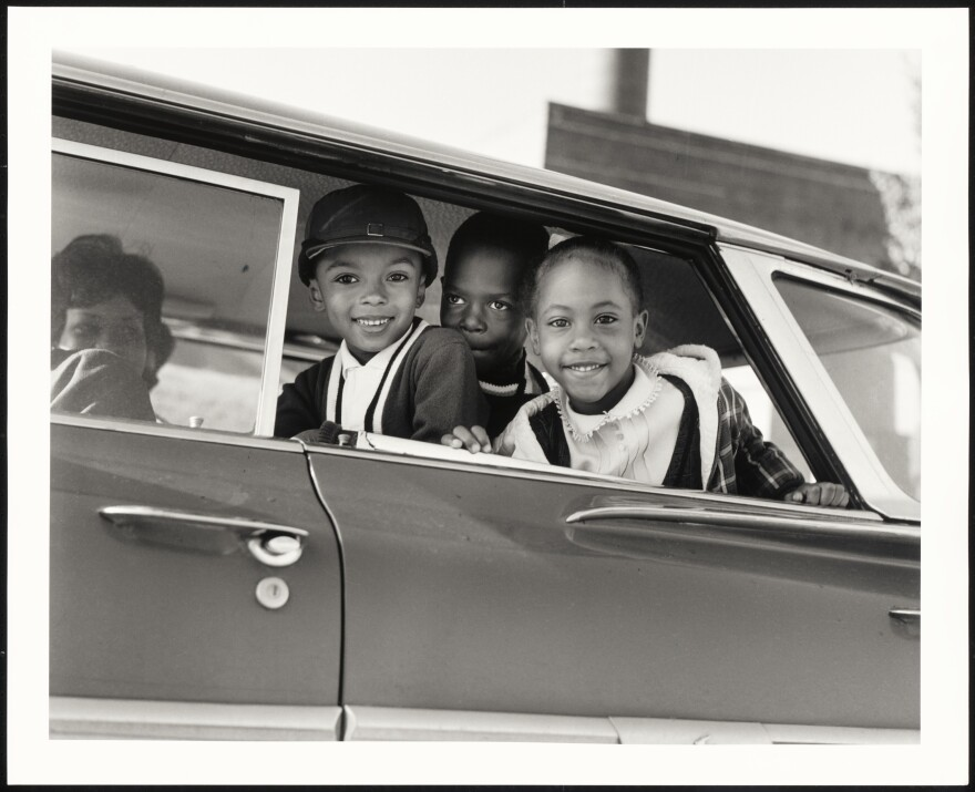 First Day of Memphis Integration, Tenn., 1961, is among the historical images in the collection.
