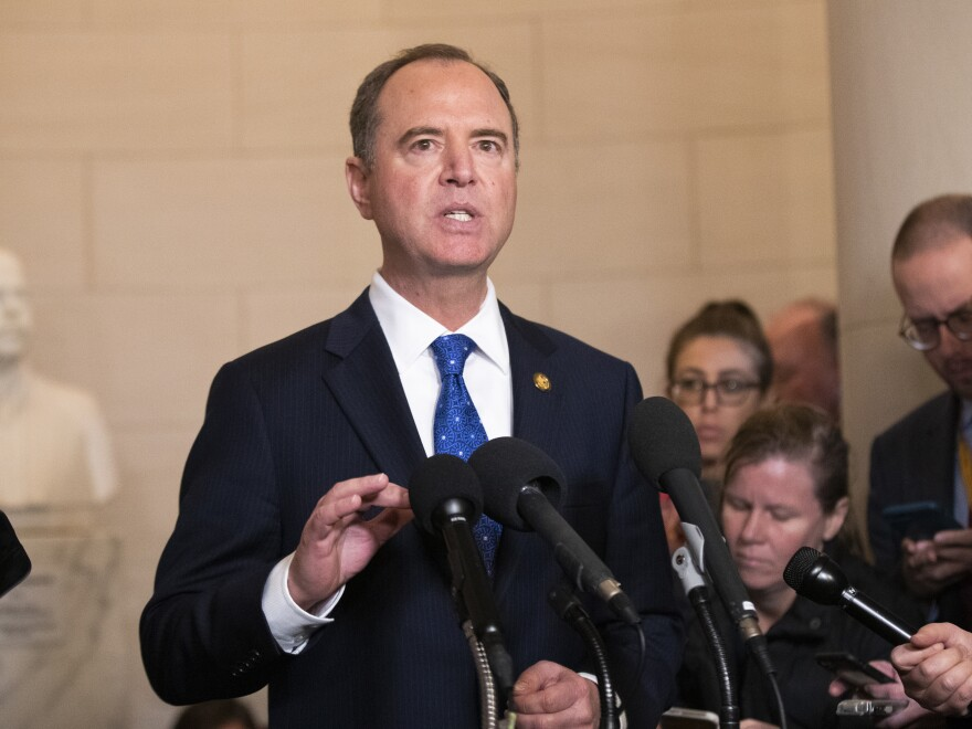 House Intelligence Committee Chairman Adam Schiff, D-Calif., has said he could decide to amend the panel's report on its impeachment investigation if new evidence is discovered.