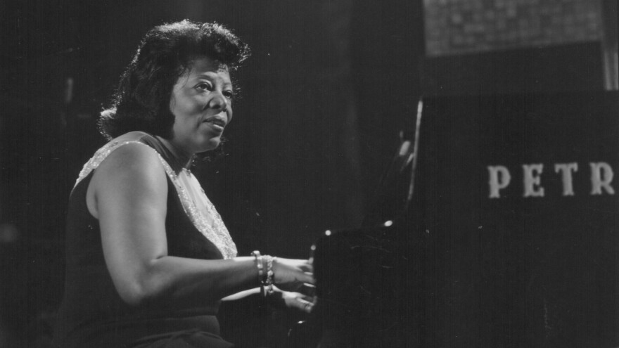 Mary Lou Williams on stage in 1968.