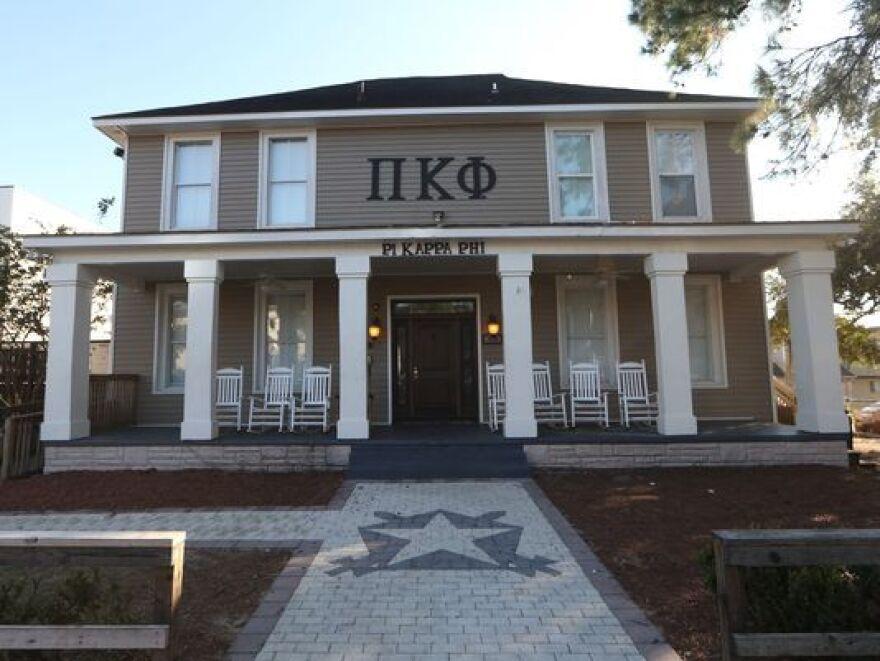 Pi Kappa Phi fraternity house.