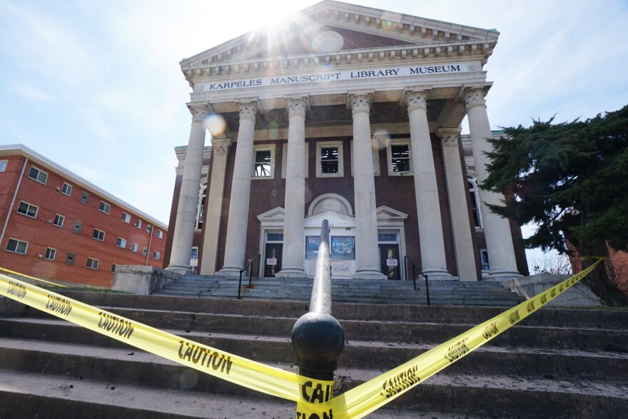 The Karpeles Manuscript Library and Museum was badly damaged in the March 2019 fire in south St. Louis.