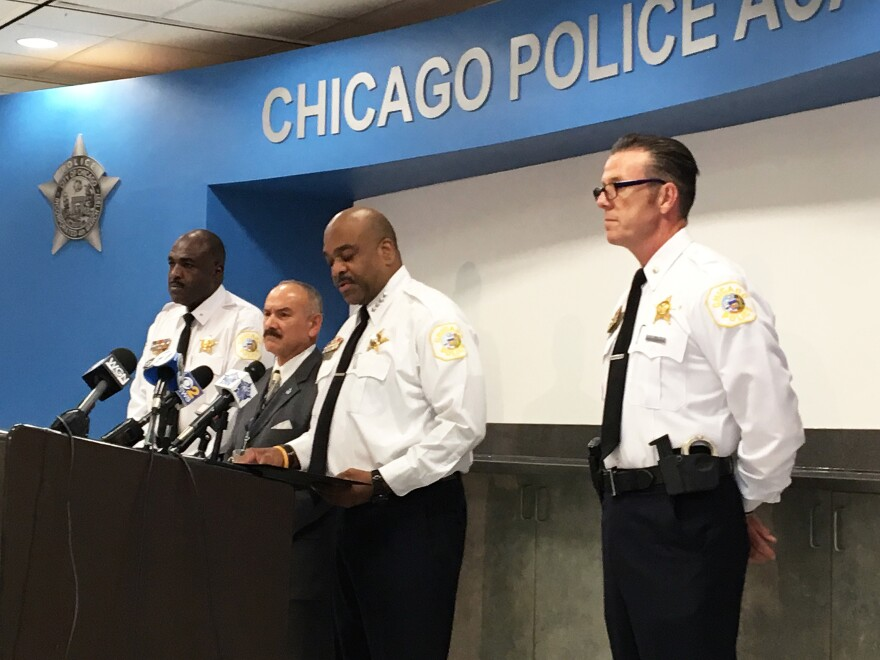 At the Chicago Police Department's Training Center, Superintendent Eddie Johnson and staff outline what's in store for new recruits as they get ready to begin their training regimen.