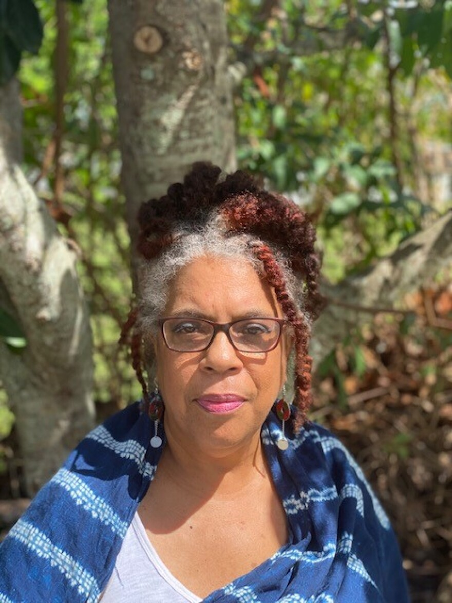 African American woman photo