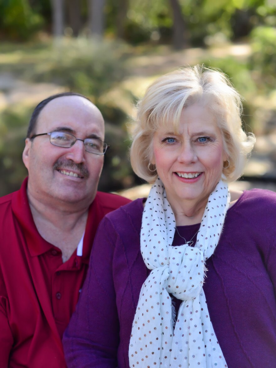 Luann Thibodeau would bring her husband, Jeff, dinner every night, except Tuesdays, when she had Bible study. Since she's been unable to visit, she says that her husband has become increasingly disinterested in food as his multiple sclerosis has worsened.