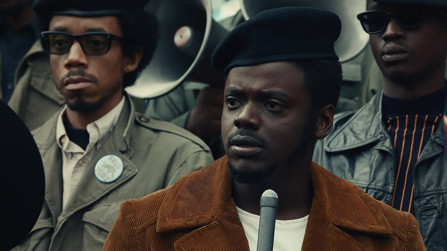 <em>Judas and the Black Messiah </em>tells the story of Black Panther Party leader Fred Hampton (Daniel Kaluuya), who was killed by the police in a 1969 raid.