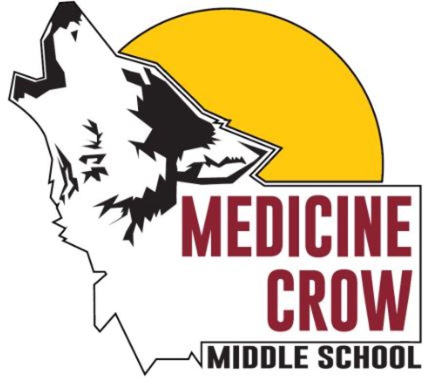 Medicine Crow Middle School logo