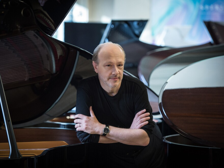Pianist Marc-André Hamelin's new album features <em>For Bunita Marcus</em>, by Morton Feldman. Hamelin has released 70 albums on the British Hyperion label.