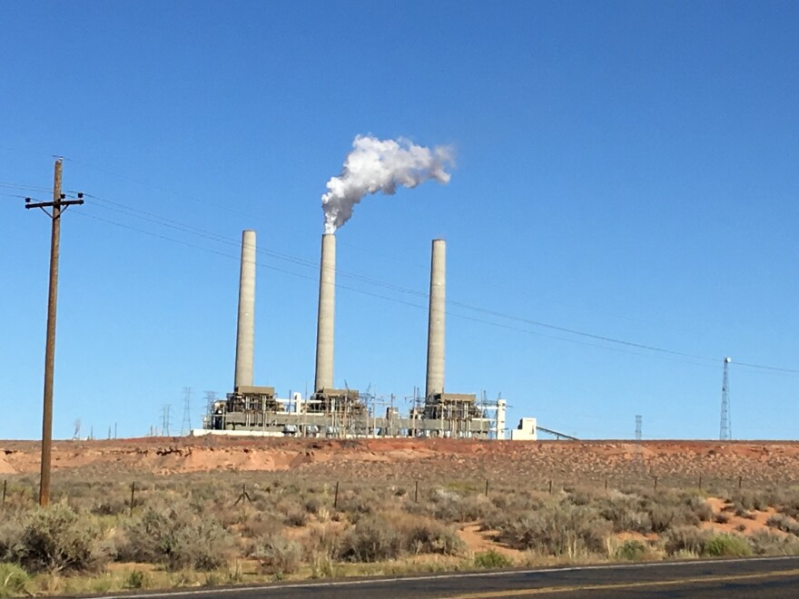 The Navajo Generating Station, the west's largest coal-fired electricity plant, will be shut down at the end of next year unless a new owner can be found. Many of the 500 employees are already finding work far from the reservation.
