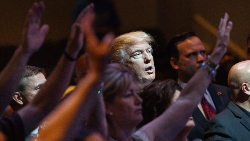 White evangelicals fueled Donald Trump's campaign, but some worry about recent sex scandals and the effect they could have on the midterms.