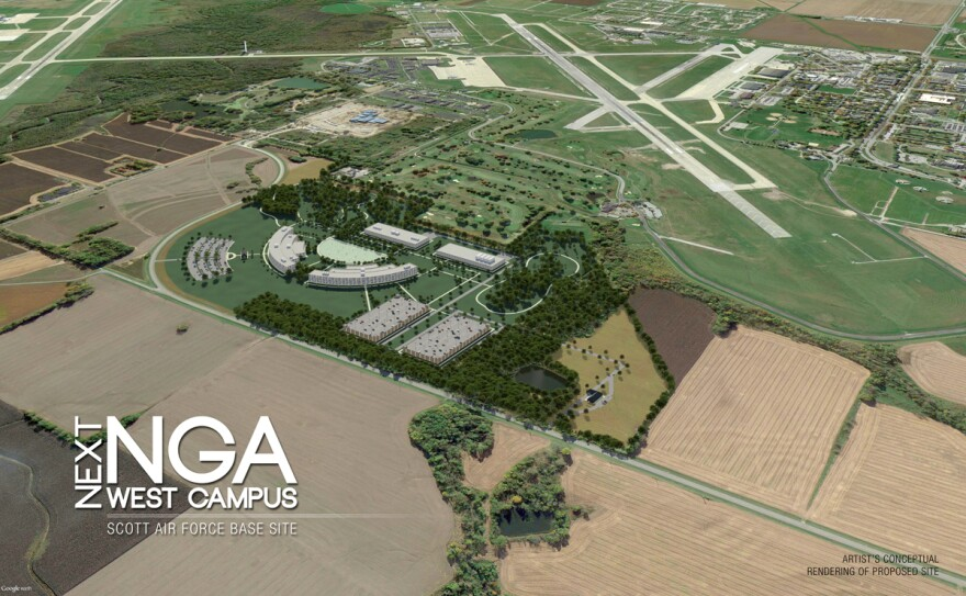 The proposed site for the N-G-A in St. Clair County.