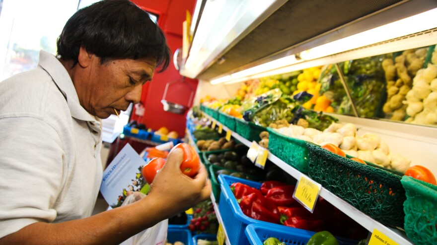 Euclid Market, a corner store in East Los Angeles, recently got a makeover to promote healthier eating. It not only sells more fruits and vegetables, but also offers cooking classes and nutrition education.