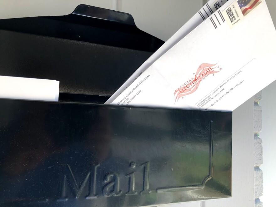 Absentee ballot - mailbox