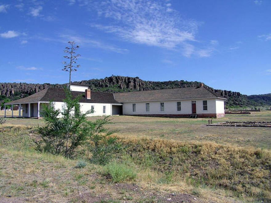 You can explore 20 buildings and 100 ruins at Fort Davis National Historic Site.