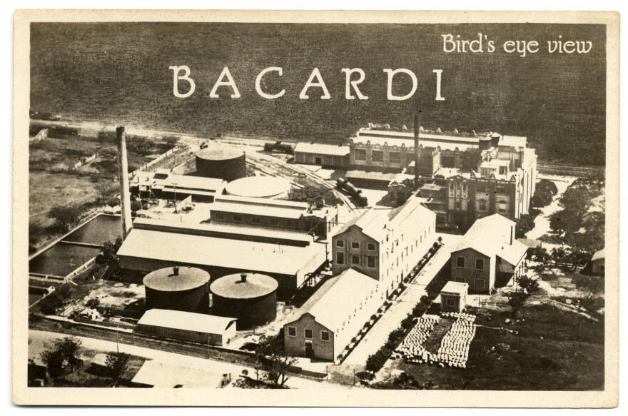 The Bacardi rum factory in Cuba. American engineer Jennings Cox is credited with inventing the daiquiri while working in Cuba in the late 1890s. The story goes that he played around with Bacardi rum to get the perfect flavor, then named the drink after the small town where he worked.