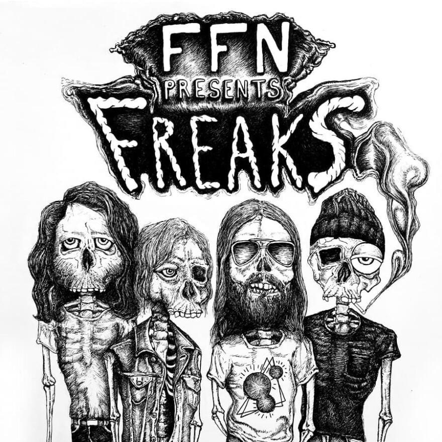 Freaks by Frontier Folk Nebraska cover art