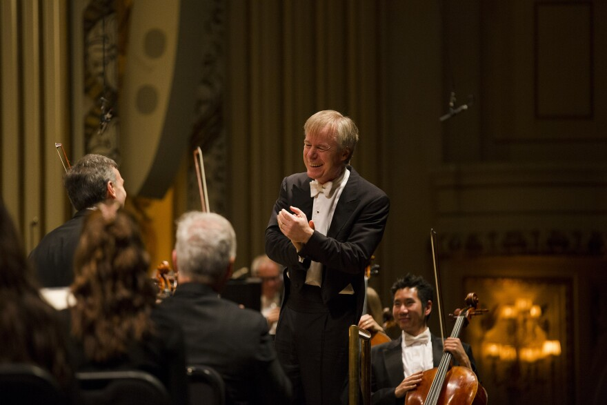 St. Louis Symphony music director David Robertson is celebrating his 10th season with the symphony.